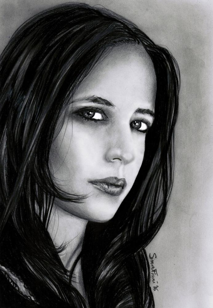 Eva Green by simoflame